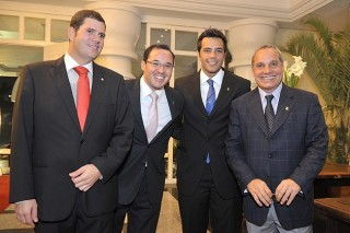 Rubens, Daniel, Marcelo e Álvaro dirigem empresa